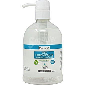 Drasanvi Gel hidroalcohólico desarrollado para la limpieza e higiene de manos dosificador 500 ml Dosificador 500 ml