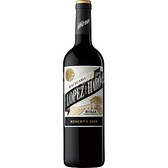 LOPEZ DE HARO Vino tinto reserva D.O. Rioja Botella 75 cl