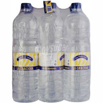 LA GRACIOSA Agua pack 6x1,5 litros