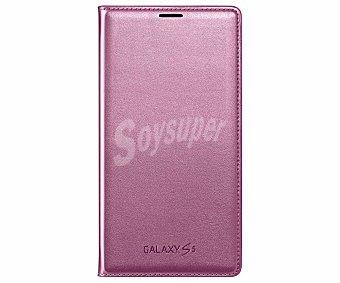SAMSUNG FLIP WALLET Funda con tapa para Samsung Galaxy S5 rosa Galaxy S5 funda