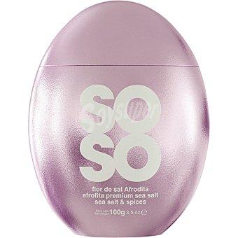 Soso Flor de sal Afrodita salero envase 100 g envase 100 g