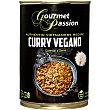 Curry vegano Lata 400 g Gourmet Passion