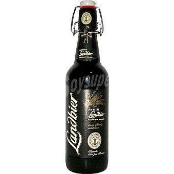 AKTIEN Landbier Dunkel Cerveza tostada alemana  botella de 50 cl