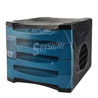 Carrefour Archivador 4 cajones azul 1 ud