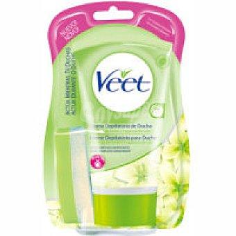 Veet Crema depilatoria para ducha piel seca Bote 150 ml