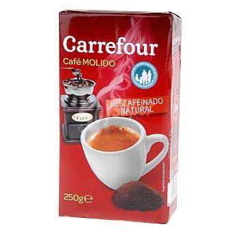 Carrefour Café molido natural descafeinado 250 g