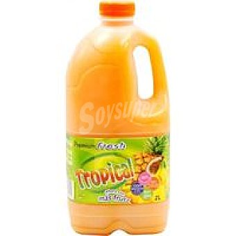 PREMIUM Fresh Refresco tropical refrigerado Brik 2 litros