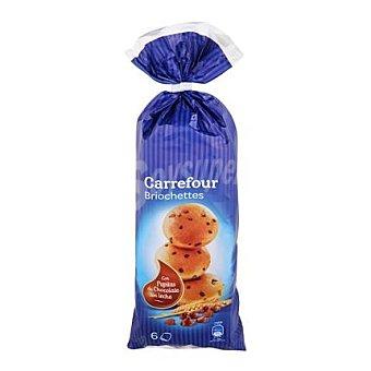 Carrefour Brioches con pepitas de chocolate con leche Carrefour 250 g