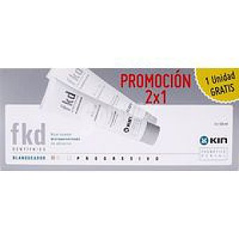 Kin Dentífrico blanqueante Pack 2x125 ml