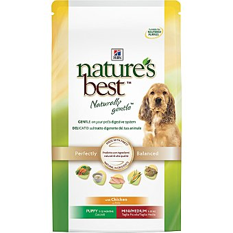 HILL'S NATURE'S BEST PUPPY Mini/medium alimento formulado para cubrir las necesidades de cachorros con pollo Bolsa 2 kg