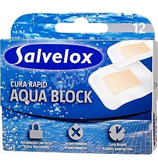 Salvelox Apósito cura rápido aqua block 12 unidades