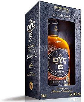 Dyc 15 Años whisky de malta Edición Especial 60 Aniversario Botella 70 cl