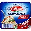 mozzarella para pizza envase 125 g Galbani