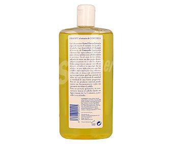 Kamel Champú al extracto de camomila especialmente indicado para niños y adultos con cabello rubio o castaño claro 500 mililitros