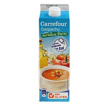 Carrefour Gazpacho bajo en sal-sin gluten 1 l
