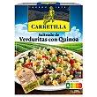 Salteado de verduritas con quinoa sin gluten Envase 250 g Carretilla