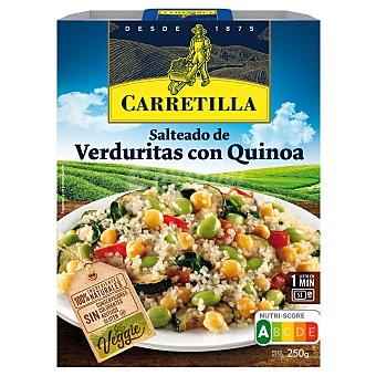 Carretilla Salteado de verduritas con quinoa sin gluten Envase 250 g