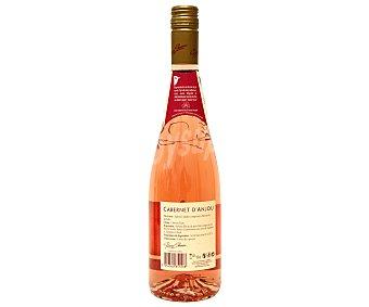 Pierre Chanau Vino rosado Cabernet, denominación de origen d`anjou Botella de 75 Centilítros