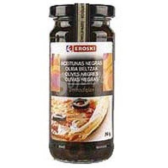 Eroski Aceitunas negras en rodajas Tarro 105 g