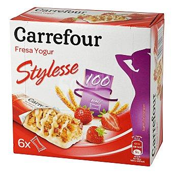 Carrefour Barritas de frutas rojas 125 g
