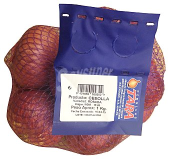 Cebolla roja Malla de 1 kg