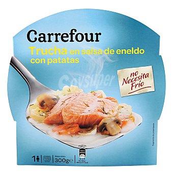 Carrefour Trucha con patatas 300 g