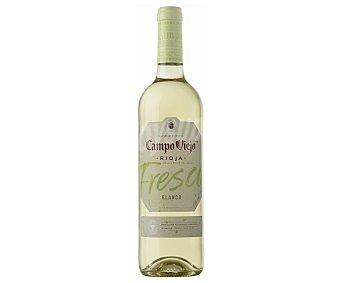 Campo Viejo Vino blanco fresco con denominación de origen Rioja Botella de 75 cl