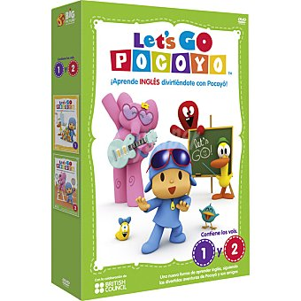 GO Let's Pocoyo, Vol. 1-2 DVD