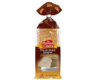 LA HORNADA CASERA Pan de molde integral 500 gramos