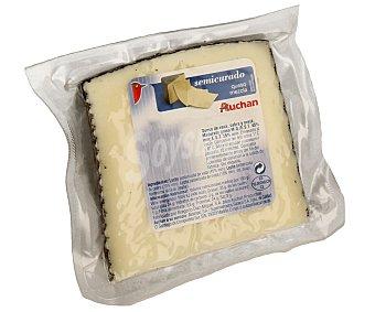Auchan Queso mezcla semicurado 500 gramos aproximados