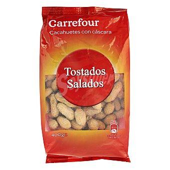 Carrefour Cacahuete con cáscara y sal 400 g