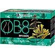 OB8 infusión recomendada en dietas de control de peso envase 20 bolsitas  YNSADIET