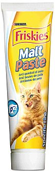 Friskies Purina Pasta de malta antibolas de pelo para gato Tubo 100 g