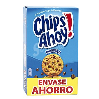 Chips Ahoy Galletas con pepitas de chocolate Caja 400 gr