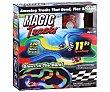 Circuito de carreras mágico, flexible y florescente, incluye coche y 220 piezas luminosas TV Magic Tracks  Best of tv