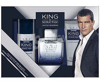 ANTONIO BANDERAS KING OF SEDUCTION Estuche regalo para hombre King of seduction.