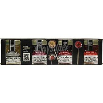 La Vieja Fábrica Cocina Selecta 4 mini dosis surtidas Paquete 118 g