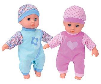 ONE TWO FUN ALCAMPO Muñeco bebé blandito 27 centímetros alcampo