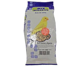MIX MASCOTAS Comida para canarios y jilgueros 500g