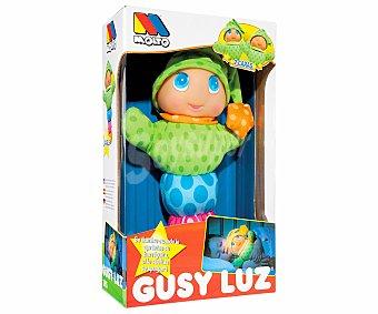 MOLTO Muñeco blandito Gusy Luz con dos caras y con luz de compañía moltó 1 unidad 1 unidad