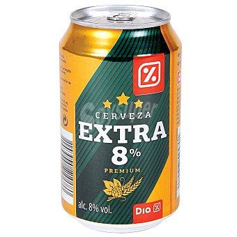 DIA Cerveza rubia nacional extra lata 33 cl Lata 33 cl