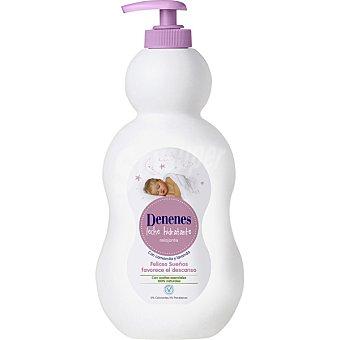Denenes Leche hidratante Felices Sueños con camomila y lavanda Dosificador 500 ml