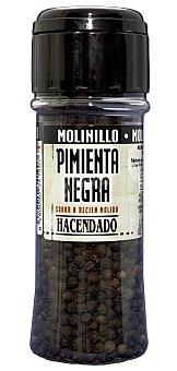 Hacendado Pimienta negra molinillo (tapon negro) Bote 65 g