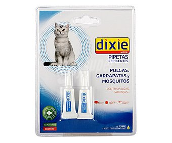 Dixie Pipetas repelentes Pack 1 unid