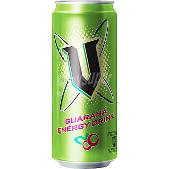 V Bebida energética con guaraná Lata de 25 cl