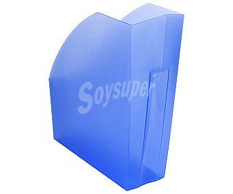 Exacompta Revistero polipropileno traslucido color azul, exacompta