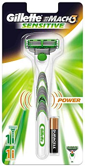 Gillette Maquinilla de afeitar eléctrica Gillette Mach3 Sensitive 1up 1 ud