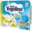 Postre de manzana y pera Pack 6x60 g Yogolino Nestlé