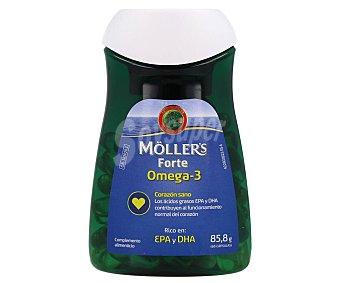 MÖLLER´S FORTE Complemento alimenticio a base de aceite de pescado 60 uds