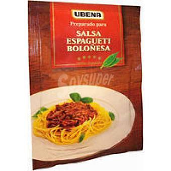 Ubena Salsa de spaguetti a la boloñesa Sobre 50 g